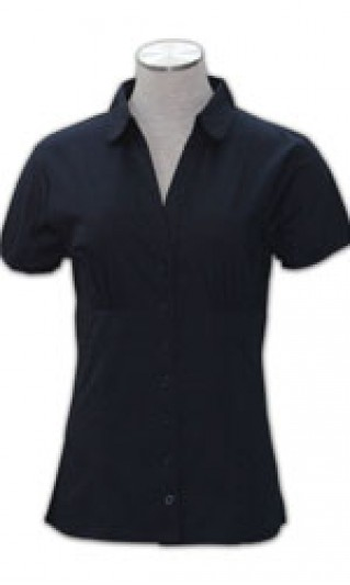 ST-WSF809 Office Shirt Suppliers, Ladies Dress a short-sleeved blouse On Sale