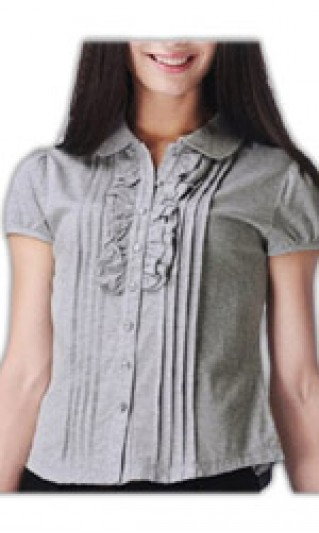 ST-WSF810 Tailored Office  a short-sleeved blouse, Custom Tailored a short-sleeved blouse